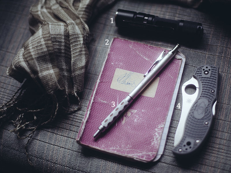 everyday carry pocket dump survival blog