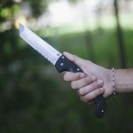 Cold Steel Voyager XL Tanto Combo Edge Knife Review