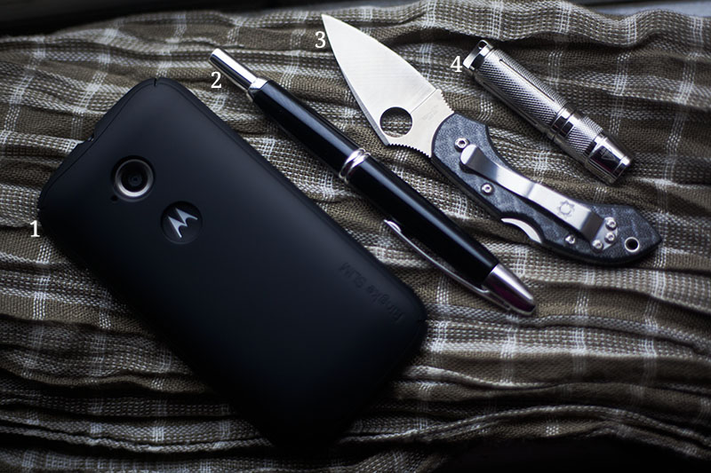 december 2015 everyday carry purse dump edc