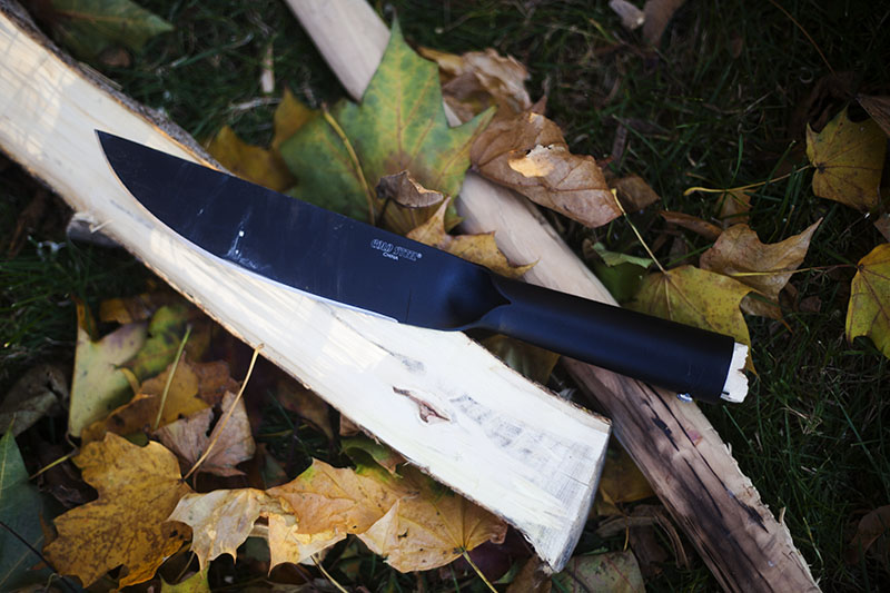 wilderness survival bushcraft kit cold steel review bushman