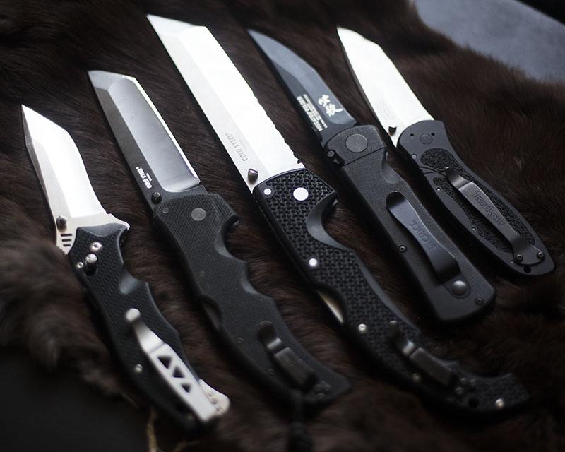 everyday carry folding tanto knives knife photography