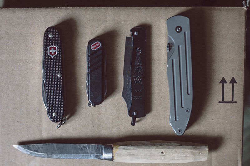more than just surviving restarting knife collection edc knives