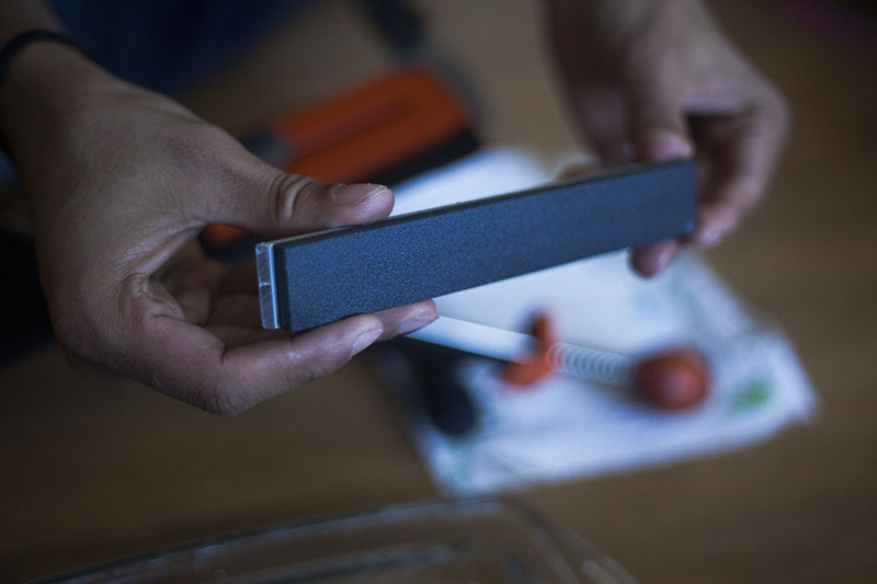 testing high quality knife sharpener hapstone pro review