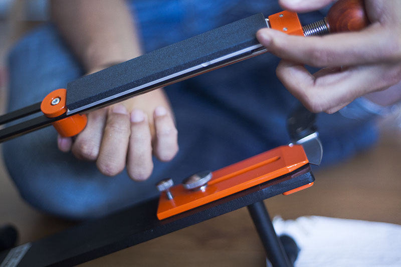 best manual knife sharpener for money hapstone pro review