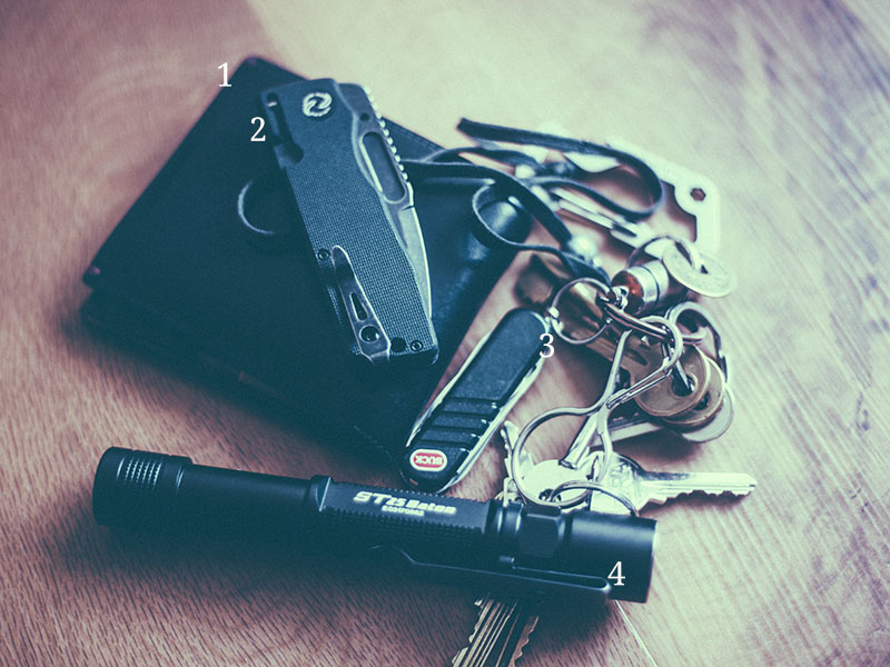 everyday carry pocket dump october 2016 edc