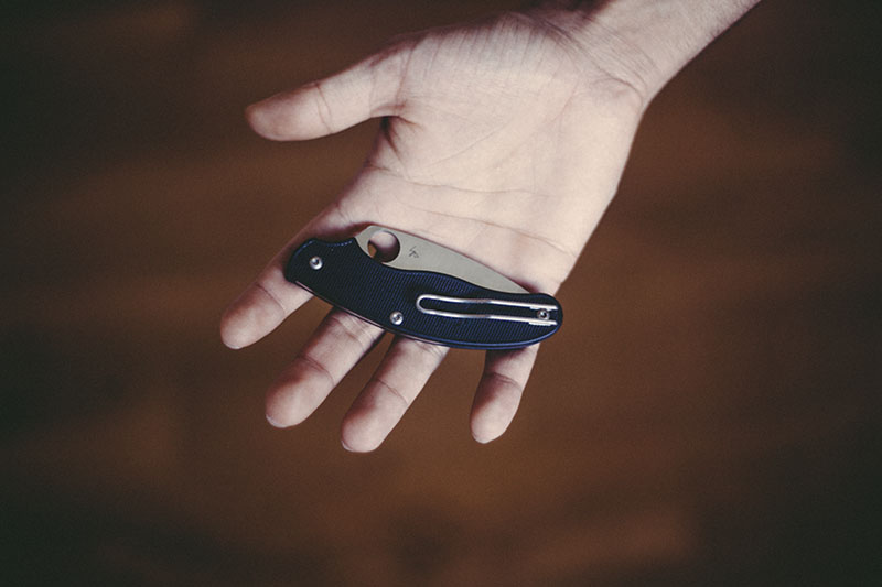 spyderco slipjoint uk folder everyday carry knife review
