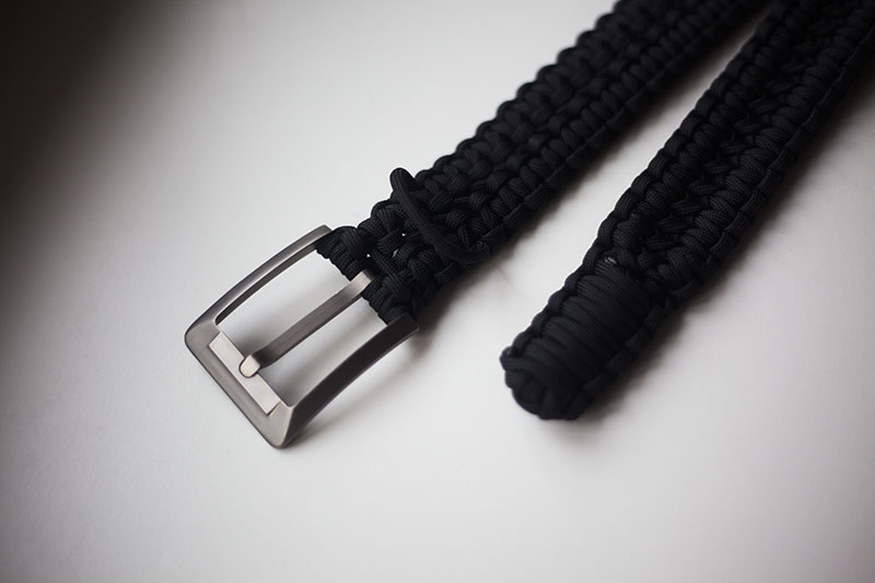 survival blog review rattlerstrap paracord belt prepper edc gear