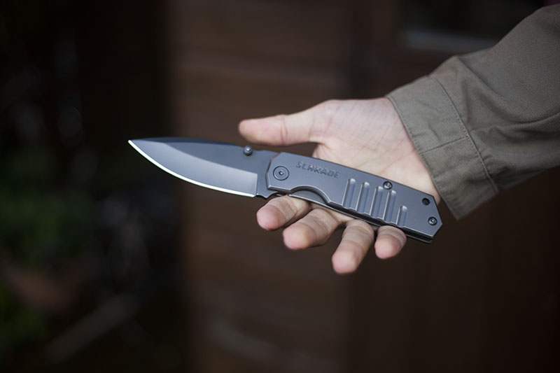everyday-carry-drop-point-folding-knife-schrade-sch304-review