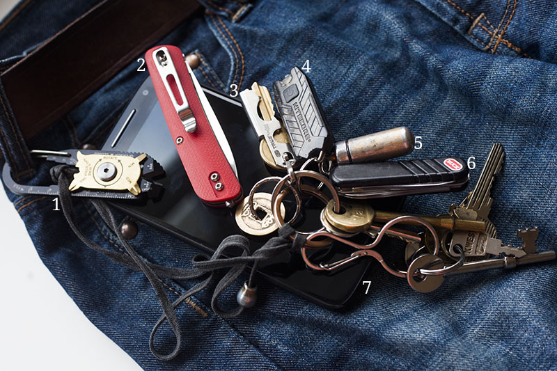 everyday carry pocket dump edc more than just surviving