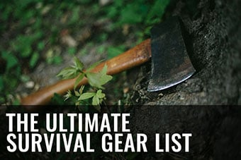 survival kit list prepper gear to stockpile