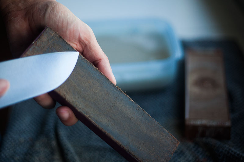 sharpening stone whetstone how to use tutorial